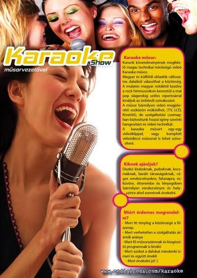 karaoke műsor rendelés: 0630-93-22-808